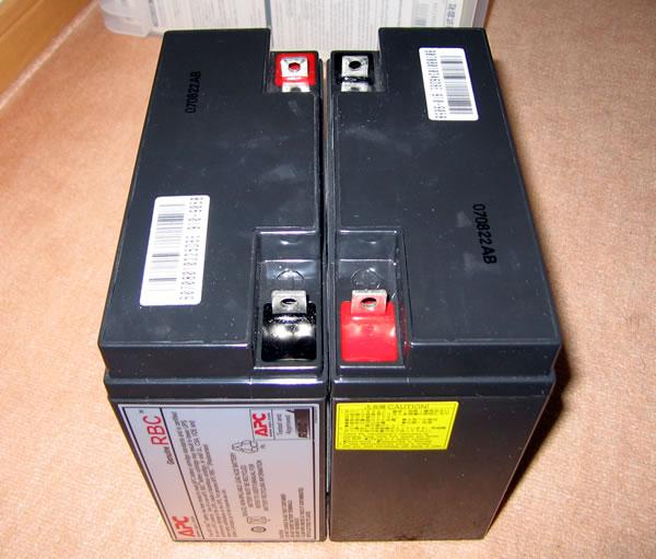 APC Smart-UPS1500 純正バッテリーの中身①