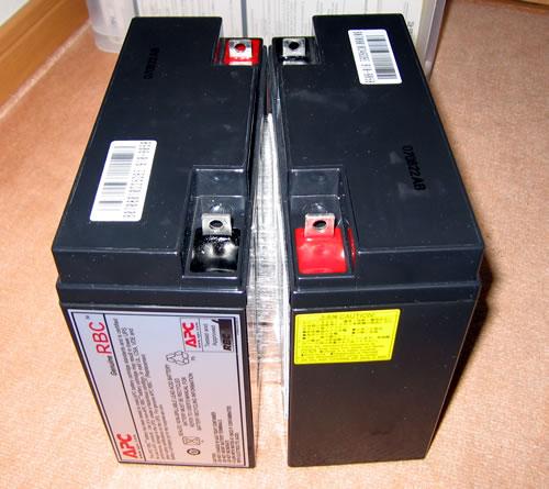 APC Smart-UPS1500 純正バッテリーの中身②
