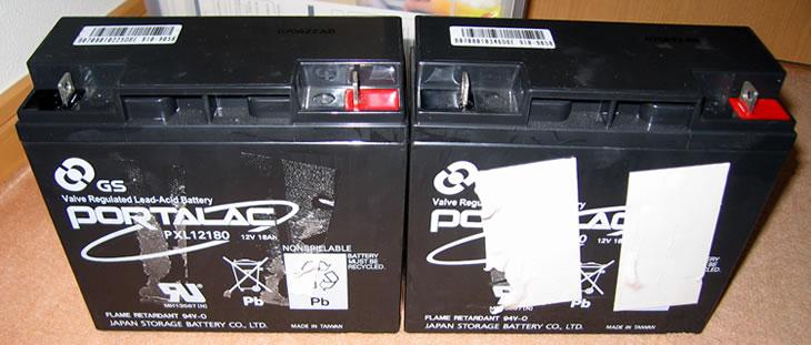 APC Smart-UPS1500 純正バッテリーの中身③