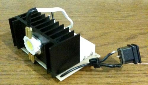 自作LED照明(門灯の節電対策)