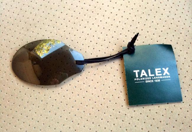 TALEX(タレックス)の偏光サングラス 性能がよく分かる画像