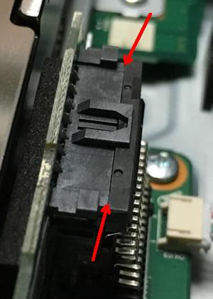 東芝ブルーレイレコーダー DBR-T1008 分解⑥