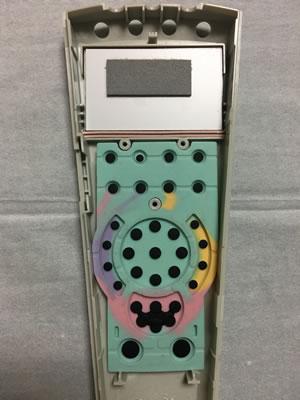 リモコン(FRC-156T)組立作業①