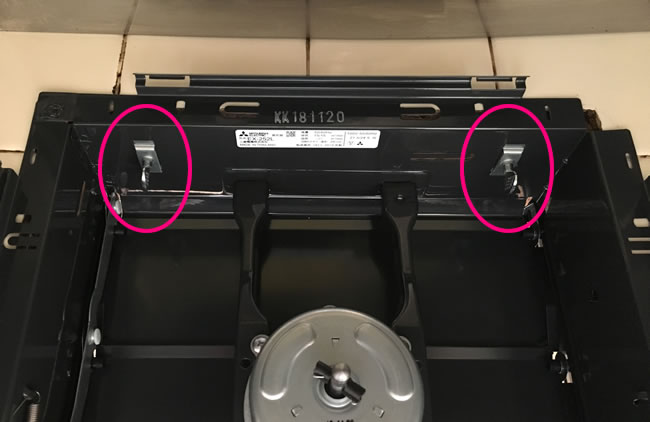 キッチン換気扇取付⑤