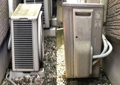 エアコン修理(周囲確認)