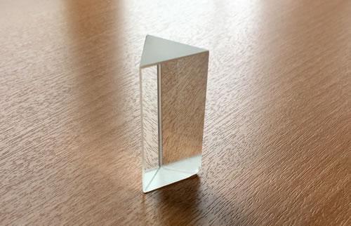 三角形のプリズム