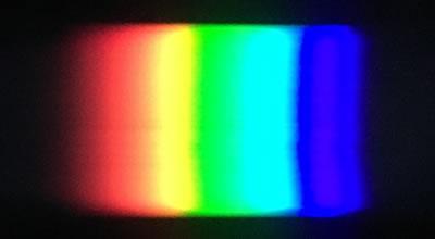 太陽光のスペクトル(曇り)