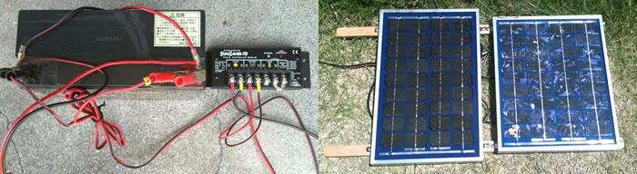 太陽電池パネル一式