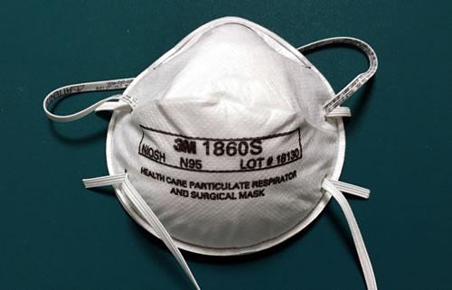 3M社製のN95マスク 1860S