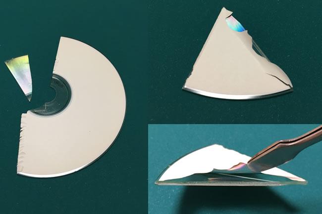 DVDを使った「簡易分光器」作成