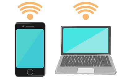 iVCam と iPhone が WiFi で接続できる条件