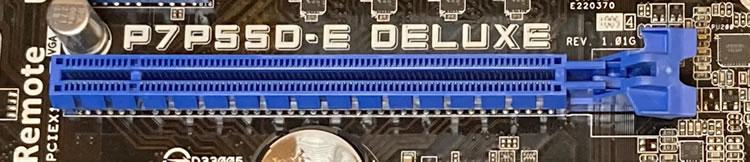 PCI-eのコネクター